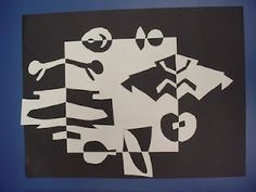 positive and negative paper cutting
