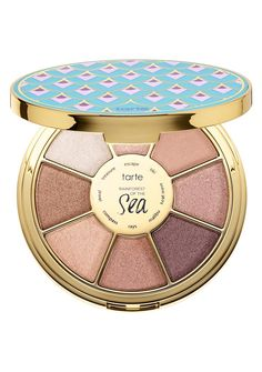 tarte タルト ハイライト Highlighting Eyeshadow Palette Vol. III - Rainforest Of The Sea〓 Collection Best Makeup Brushes, Makeup Tools, Best Makeup Products, Beauty Products, Eyeshadow Primer, Glitter Eyeshadow, Glitter Makeup, Gold Glitter, Tarte Eyeshadow Palette