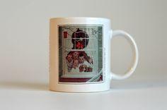 Vintage,Norman Rockwell,Christmas Mug, Copyright 1951, The Norman Rockwell Family Trust,Ceramic Mug,Ceramic Cup,Christmas Ceramic by HoneyQueenBee on Etsy