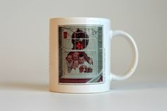 Vintage,Norman Rockwell,Christmas Mug, Copyright 1951, The Norman Rockwell Family Trust,Ceramic Mug,Ceramic Cup,Christmas Ceramic by HoneyQueenBee on Etsy