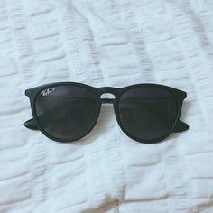 ed8cf8bbb7b3 Black Ray-Ban sunglasses Erica style black ray ban sunglasses, perfect  condition no signs