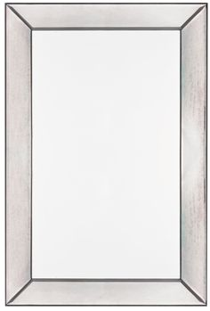 The gorgeous Tompkins mirror will make a lovely addition to any décor. This beautiful rectangular wall mirror is mounted to a wood frame, with antiqued glass covering the frame to provide a seamless reflection. Add this mirror to your home for a touch of style.
