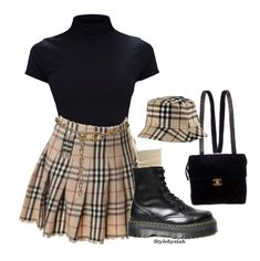 trendy outfit with leather pants : heels top bag - Stylish OMG Stage Outfits, Teen Fashion Outfits, Kpop Outfits, Mode Outfits, Grunge Outfits, Look Fashion, Korean Fashion, Girl Outfits, Womens Fashion