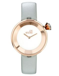 Image 1 ofMoschino Cheap & Chic Yes I Will Gold Watch