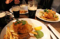 Fish in un Irish Pub, Londra, 2012