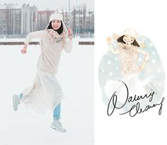 Polar Nancy! (by Nancy Zhang) http://lookbook.nu/look/4495073-Polar-Nancy