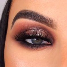 Eyebrow Makeup Tips, Eye Makeup Steps, Contour Makeup, Skin Makeup, Eyeshadow Makeup, Kylie Makeup, Smoky Eyeshadow, Clinique Makeup, Makeup Primer