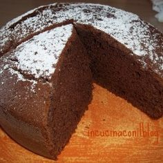 TORTA NESQUIK ricetta bimby e manuale | IN CUCINA CON IL BLOG Italian Cake, Italian Desserts, Sweets Recipes, Cake Recipes, Bolo Paleo, Italian Breakfast, Torte Cake, Cooking Cake, Biscuit Recipe