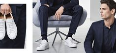 HUGO BOSS | BOSS Guide: How to Match Suits with Shoes Suit Shoes, Dress Shoes, Hugo Boss, Boss Show, Boss Man, Camisa Polo, Visual Merchandising, Style Guides, Menswear