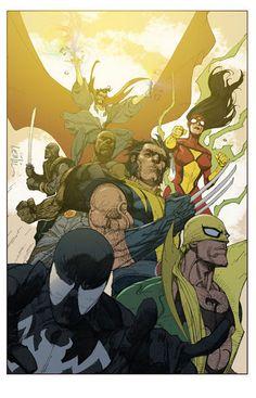 New Avengers - Leinil Francis Yu