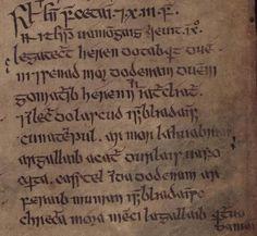 The Annals of Inisfallen (Bodleian MS. Rawl. B. 503 folio 40r)