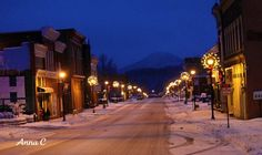 Downtown Tazewell Virginia, photo taken by Anna Cornwell