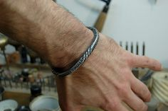 Forged bracelet (2010, IT) Bracelet 14.1 by Blind Spot Jewellery, via Flickr So stinkin cool!