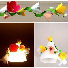Guirlande de fleurs papier facile à faire