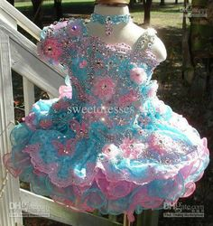 Beautiful pagent dress
