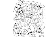 Malvorlage Muppets6 Kermit, Disney Musical, Die Muppets, The Muppet Show, Art, Canvas, Art Background, Kunst, Performing Arts