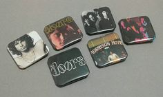 Check out this item in my Etsy shop https://www.etsy.com/listing/475272223/the-doors-jim-morrison-backpack-pins