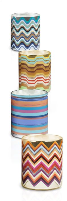 The Missoni Candle Collection.