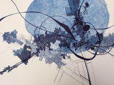 Detail of work in progress - Derek Lerner 2015-08-01