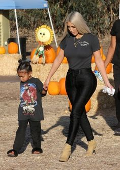 Kim and North out in LA - 17 October, 2017