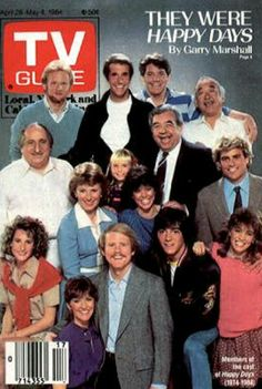 1/18/18   4:17a     TV Guide  Mag Cover  ''Happy Days''   Finale 4/28-5/04/1984   They Were  Happy Days by  Garry Marshall  tvguidemagazine.com