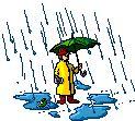 Animierte Gegenstände Gifs: Regenschirme - Gif-Paradies
