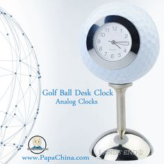 The Golf Ball Desk Clock is made up of immense quality parts which is equipped with world class body parts and can be used as that your customers can hardly forget your company.