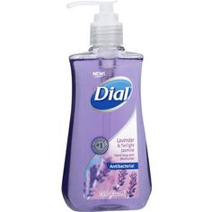 Dial Lavender & Twilight Jasmine Antibacterial Hand Soap with Moisturizer, fl oz, Multicolor Foaming Hand Wash, Benzalkonium Chloride, Liquid Hand Soap, Fragrance Parfum, Active Ingredient, Twilight, Bath And Body, Moisturizer