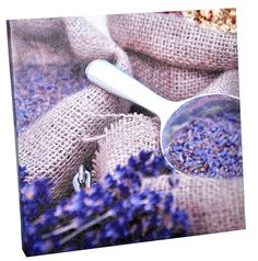 Have a purple room? This painting is made for you!   Painting lavender, 20x20x2 cm (14,99 lei), Bam Boo, Baneasa Shopping City