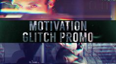 "DOWNLOAD After Effect template here: https://goo.gl/2MhXiy  This project will help you to create a great dynamic video with cool transitions and awesome title scenes. ""Motivation Glitch Promo"" is perfect for: sport promotion, action sport slideshow, travel slideshow, photo/video slideshow, special events, media opener, trailer, intro, promo, trip video, video blog, trailer, intro, promo and journey video."