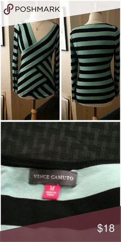 Vince Camuto Top   I'm adorable! Size Medium. I'm soft an stretch. I look adorable on. I'm ready to be shipped to you. Pair me up with your favorite jeans! I have been worn twice,so I'm in great shape!  Thanks! Vince Camuto Tops Tees - Long Sleeve