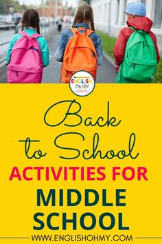 Teachers are in the hunt of engaging back to school activities for their middle school students. Check out these engaging activities like ice breakers, Getting to Know You Activities, and digital escape rooms. |Back to School| Middle School ELA | Middle School English| Back to School Activities|