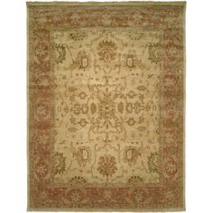 Found it at Wayfair - San Lucas Hand-Knotted Ivory Area Rug