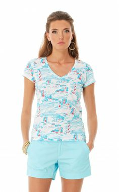 Michele Top in Watch Out, Resort White