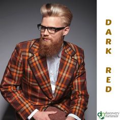 Manly Guy Dark Red | Shop Men's Henna Hair Color at HennaKing.com