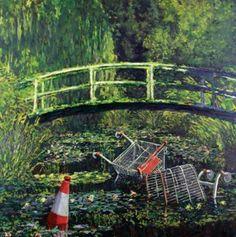 Show me the Monet - Banksy