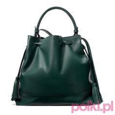 Zielona torebka, Zara #polkipl