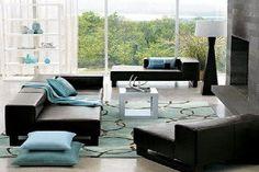 die besten 25 schwarze sofas ideen auf pinterest schwarze wohnzimmerm bel schwarzer sofa. Black Bedroom Furniture Sets. Home Design Ideas