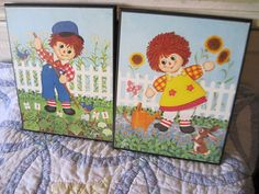 In the Garden with TeamvintageUSA by Nammers on Etsy