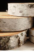 Birch bark for centerpieces