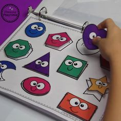Fun Preschool Activities with Letter Matching, Shapes, Counting and more. #preschool #preschoolactvities #preschoolshapes #letterrecognition