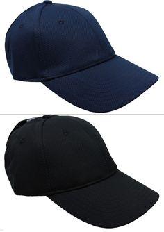 NEW Mens Baseball Golf Cap Hat Adjustable One Size All Blue Black by Antigua NWT #Antigua #BaseballCap #hat