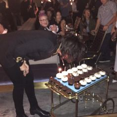 How much birthday cake was at this party?!