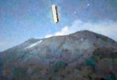 Volcan Popocatepetl, Mexico ufo ovni