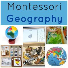 Montessori Geography Lessons: how Montessori teachers incorporate geography and cultures into the curriculum for preschool- primary. Activities, lessons, and ideas.