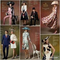 If the Royal Ascot Style Guide 2016 is anything to go by, brims are definitely back.