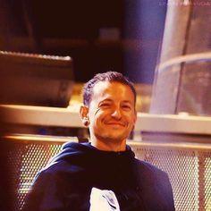 Smiling Chester Bennington