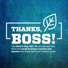 Do you have a great #boss at your company? Tell us about them for our Boss's Day blog post, Oct. 16. Bosses Day, Growing Your Business, Thankful, How To Make, Blog, Blogging