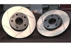 StopTech Slotted Brake Rotors