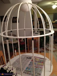 Jason: At first we weren't quite sure what to do with our 7-year-old's request to be a bird in a cage but we've got a policy in our family that if...
